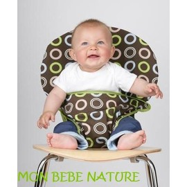 Si ge tissu pour chaise normale - Siege bebe adaptable chaise ...