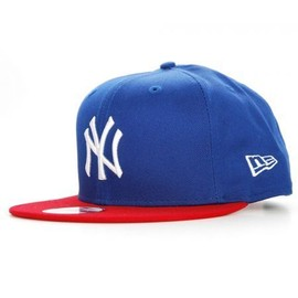 new era snapback new york yankees logo bleu rouge casquette 9fifty. Black Bedroom Furniture Sets. Home Design Ideas