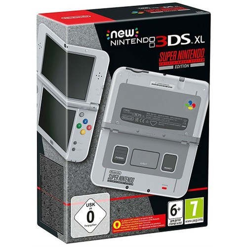 New nintendo 3ds xl super nintendo entertainment system - How much is a super nintendo console worth ...
