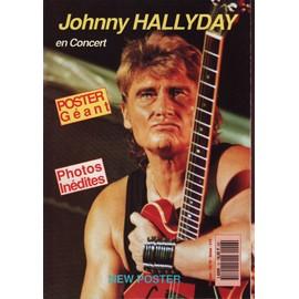 new poster 1991 n 16 johnny hallyday en concert 6p poster geant. Black Bedroom Furniture Sets. Home Design Ideas