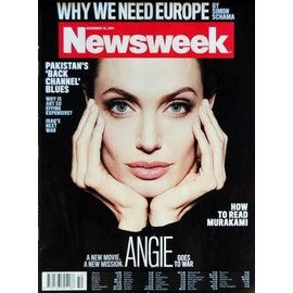 Newsweek N� 50 Du 12/12/2011 - Why We Need Europe By Simon Schama - Pakistan's Back Channel Blues - Why Is Art So Effing Expensive - Iraq's Next War - Angelina Jolie