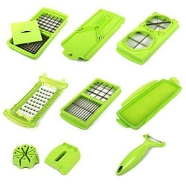 Nicer dicer plus eplucheur coupe l gumes fruits pas cher - Coupe legumes nicer dicer plus ...