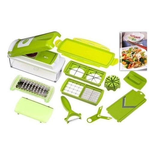 Nicer dicer plus eplucheur coupe l gumes fruits pas cher rakuten - Coupe legumes nicer dicer plus ...