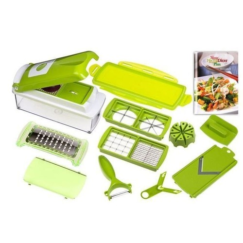 Nicer dicer plus eplucheur coupe l gumes fruits pas cher rakuten - Nicer dicer coupe legumes ...
