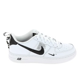best website 2ca81 12735 Nike Air Force 1 Lv8 Ultility Jr Blanc Noir Ar17d8-100