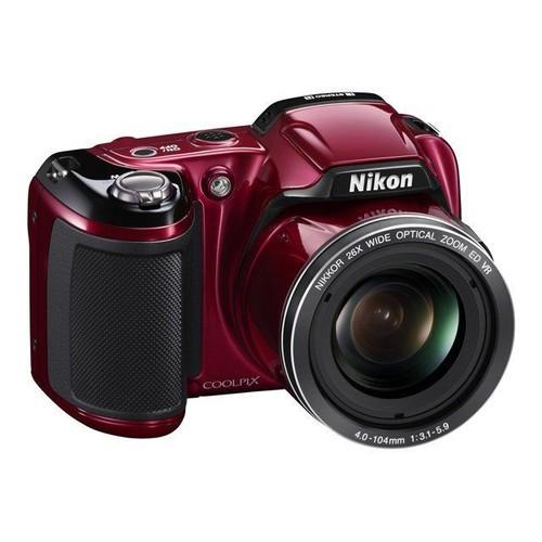 Nikon Coolpix L810 Bridge numérique 16.1 Mpix Rouge Nikon