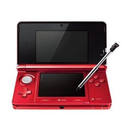 nintendo 3ds console de jeu portable rouge flamme pas cher. Black Bedroom Furniture Sets. Home Design Ideas