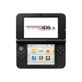 Nintendo 3ds xl console de jeu portable noir pas cher rakuten - Console nintendo 3ds xl pas cher ...