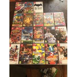 nintendo switch 19 jeux pas cher achat vente sur rakuten