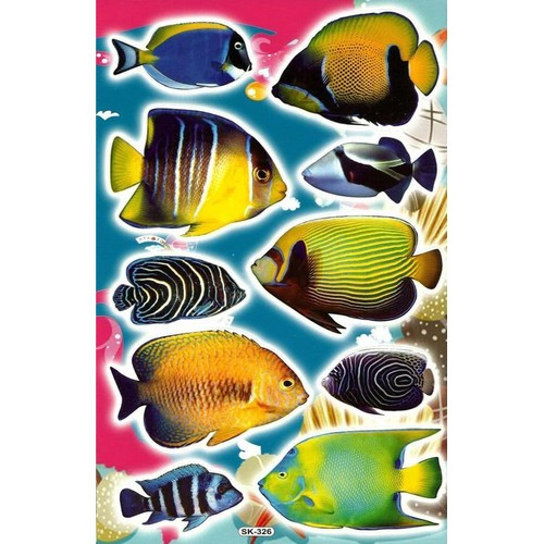 Liste de remerciements de antonin o stickers top moumoute for Poissons exotiques aquarium