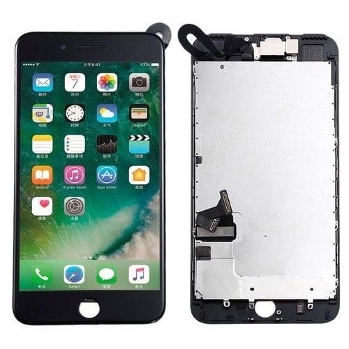 noir complet cran lcd vitre tactile pour iphone 7 plus pas cher. Black Bedroom Furniture Sets. Home Design Ideas