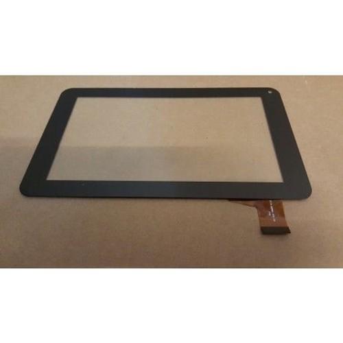 noir ecran tactile touch digitizer vitre tablette. Black Bedroom Furniture Sets. Home Design Ideas