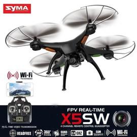 Petite annonce Noir Syma X5sw Rc Quadcopter 2.4g 4ch 6-Axes Gyro Wifi Fpv Drone Avec 2mp Camera-Ebtek - 61000 ALENCON