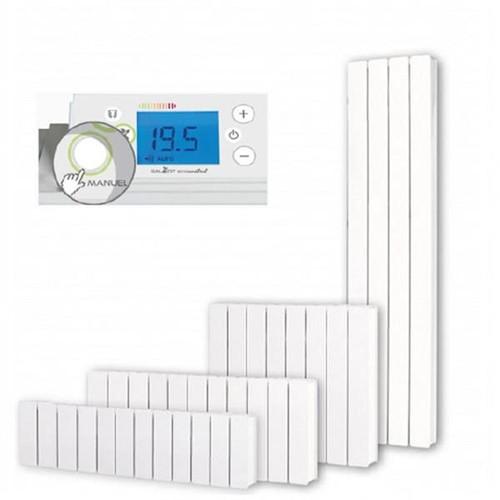 radiateur chaleur douce inertie horizontal bellagio smart ecocontrol. Black Bedroom Furniture Sets. Home Design Ideas