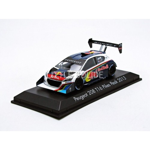 norev 1 43 peugeot 208 t16 pikes peak 2013 472825. Black Bedroom Furniture Sets. Home Design Ideas