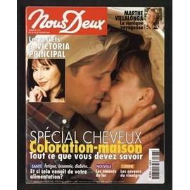 Nous Deux N� 2747 Du 22/02/2000 - Marthe Villalonga - Les Secrets De Victoria Principal - Special Cheveux - Les Saveurs Du Vinaigre