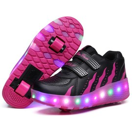 nouveau style chaussures enfant roulettes chaussures led chaussures lumineuses filles gar on. Black Bedroom Furniture Sets. Home Design Ideas