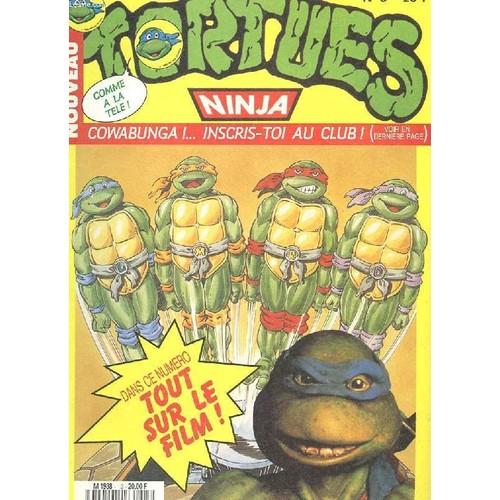 Nouveau tortue ninja n 3 cowabunga tout sur le film un - Tortue ninja couleur ...