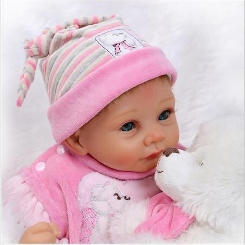 Npk 22 39 39 55 cm nouvelle arriv e silicone reborn b b - Vente privee pour bebe ...