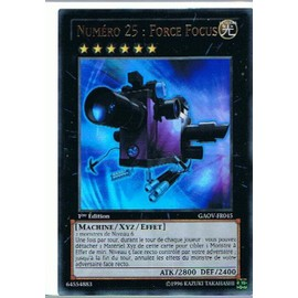 Numero 25 Force Focus (Number 25: Force Focus) - Yu-Gi-Oh!