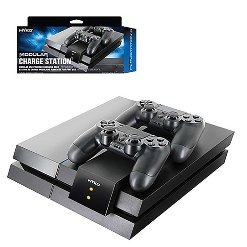 nyko dual modular pour 2 manettes sony playstation 4 ps4. Black Bedroom Furniture Sets. Home Design Ideas
