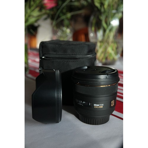 objectif sigma 50mm f 1 4 dg hsm monture canon pas cher. Black Bedroom Furniture Sets. Home Design Ideas