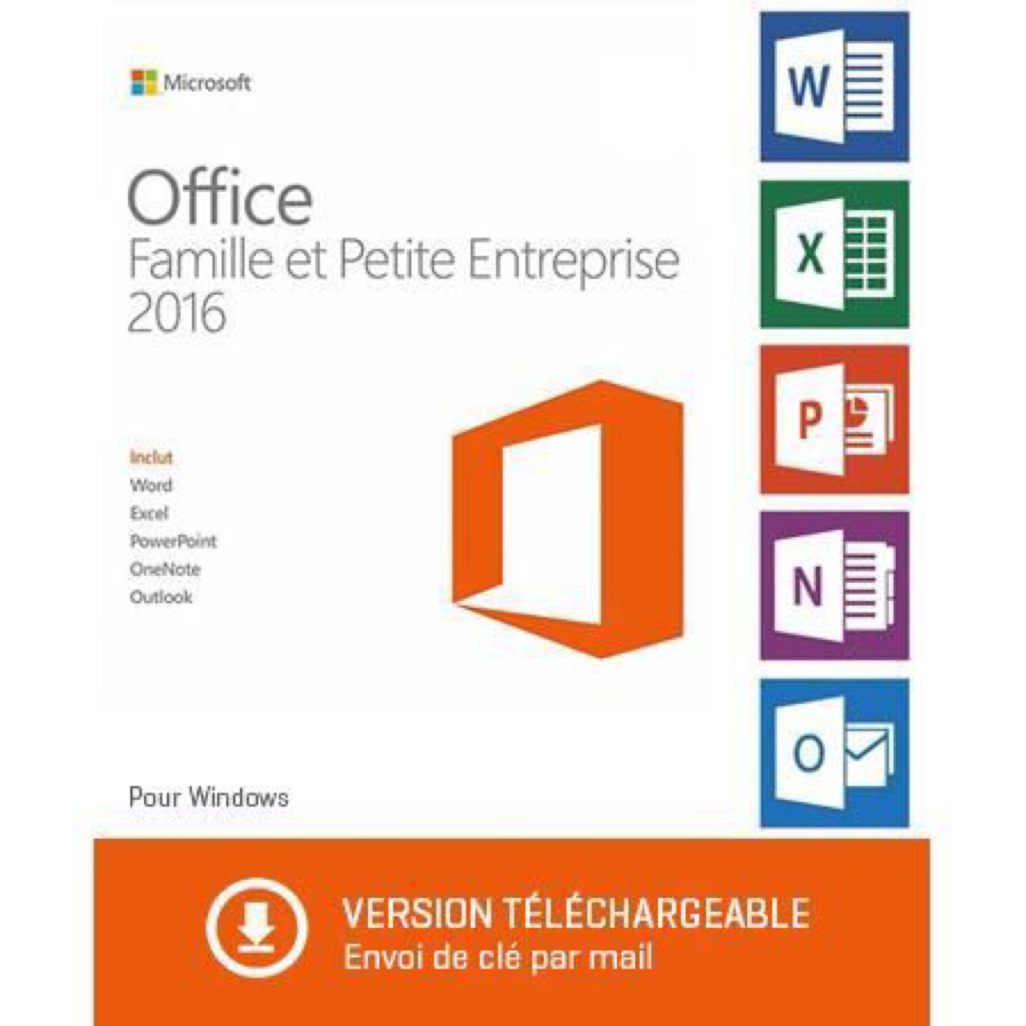 Office 2016 famille et petite entreprise achat et vente - Cle activation office 2010 famille et petite entreprise ...