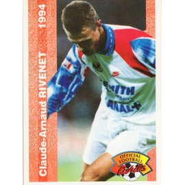 Official Football Cards 1994 Carte Claude-Arnaud Rivenet N° 187 Lyon