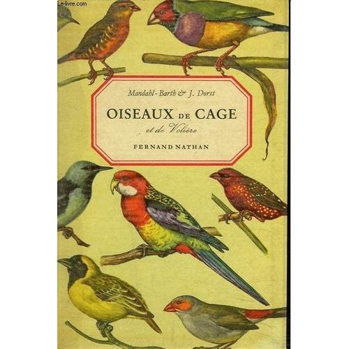 oiseaux de cage et de voliere de dorst j livre neuf occasion. Black Bedroom Furniture Sets. Home Design Ideas