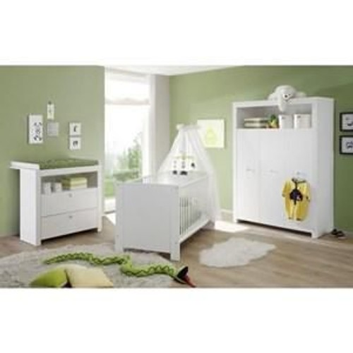 Olivia chambre b b complete 3 pieces pas cher for Prix chambre complete