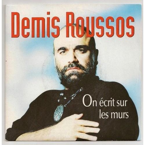 On Ecrit Sur Les Murs//Time Demis Roussos: 45 Tours Priceminister Rakuten