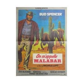 On M Appelle Malabar - Affiche -- 160 Par 120 Cm - 88