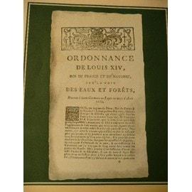 Ordonnance Du Roy Henri Iv - 12 Septembre 1609 - Publicite Pharmaceutique Ancienne Pour Optalidon