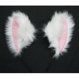 Oreille chat en serre t te cosplay costume d guisement barrette - Oreille de chat serre tete ...