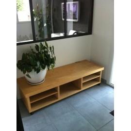 organisation meuble tv bas a roulette ikea achat et vente rakuten. Black Bedroom Furniture Sets. Home Design Ideas