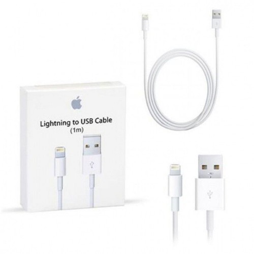 original apple lightning cable chargeur usb iphone 5 6 7 pas cher. Black Bedroom Furniture Sets. Home Design Ideas