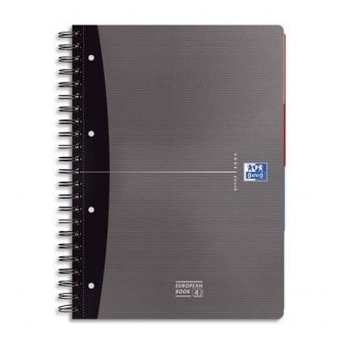Oxford cahier office european book ft a4 lign 240 pages perforation 4 trous 5 unit s - Cahier oxford office book ...