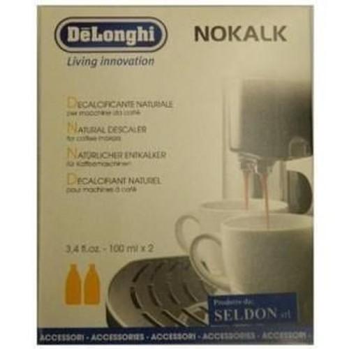 pack 2 detartrants cafetiere naturels nokalk 100ml a base d acide lactique expresso delonghi. Black Bedroom Furniture Sets. Home Design Ideas