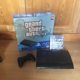 pack console ps3 slim 500go gta v pas cher priceminister rakuten. Black Bedroom Furniture Sets. Home Design Ideas
