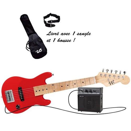 pack mini guitare electrique achat vente de jouet priceminister rakuten. Black Bedroom Furniture Sets. Home Design Ideas