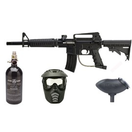 Pack Paintball Bt Omega Complet