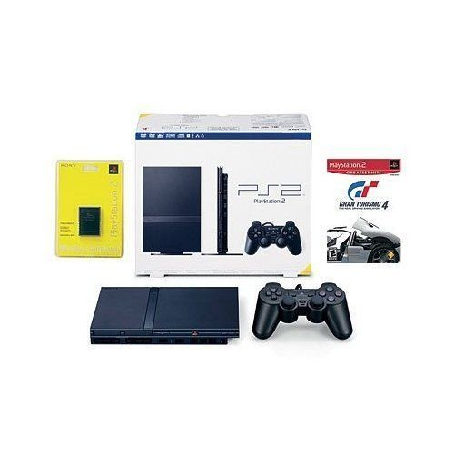 Pack playstation 2 console ps2 slim 90004 gran turismo 4 c bles - Playstation 2 console price ...