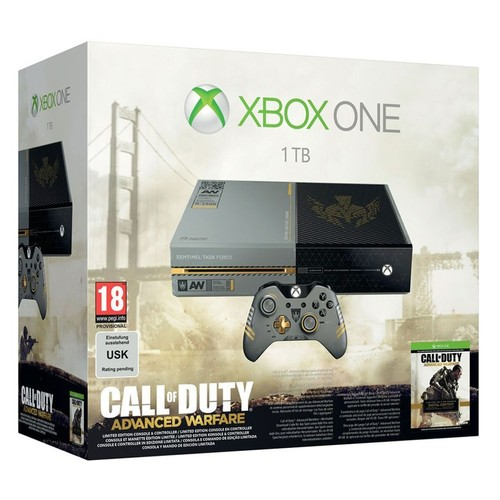 xbox one collector call of duty advanced warfare pas cher. Black Bedroom Furniture Sets. Home Design Ideas