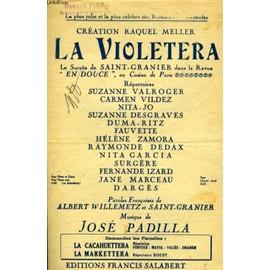 La Violetta ( Chanson De La Marchande De Violettes) de Padilla Jos