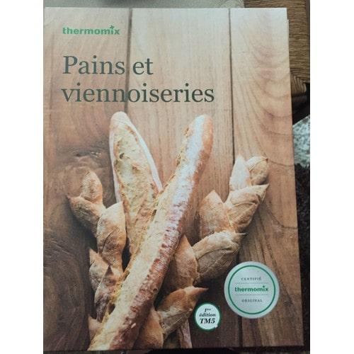 pains et viennoiseries de thermomix format cartonn livre - Livres De Cuisine Thermomix