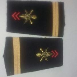 Paire Fourreau D'�paule D'infanterie Adjudant Chef