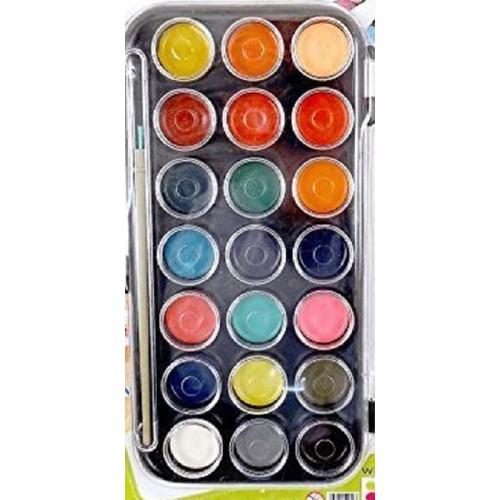 palette peinture a l 39 eau enfant x 21 couleurs achat et vente. Black Bedroom Furniture Sets. Home Design Ideas