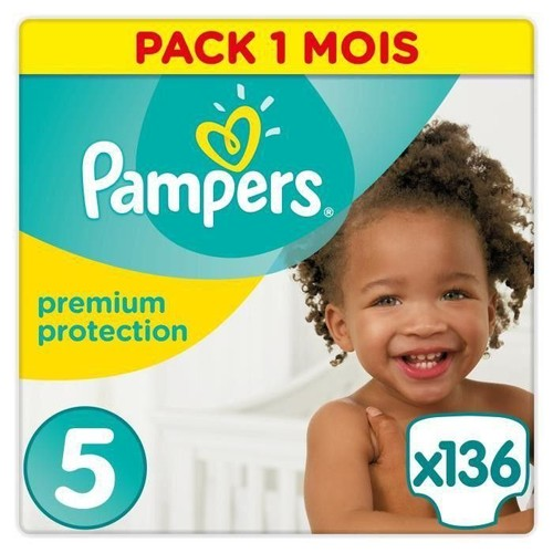 Pampers Premium Protection New Baby Taille 5 11 23 Kg 136 Couches