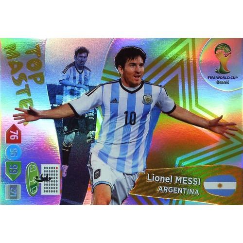 Panini adrenalyn xl coupe du monde 2014 lionel messi - Carte coupe du monde 2014 ...
