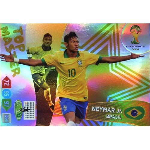 Panini adrenalyn xl coupe du monde 2014 neymar jr neuf et d 39 occasion - Carte coupe du monde 2014 ...